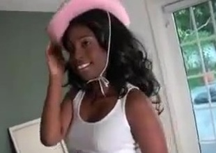This Ebony Teen is Fucking Hot