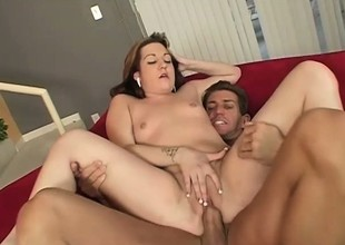 Chubby Coed Gets Her Corpulent Pussy Banged