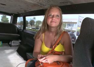 In this weeks bangbus update were out doing what we do and by that I mean getting my boy Mirko some ass. So we spot this little blondie in the middle of this