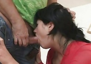 Slutty cunt takes rough sex