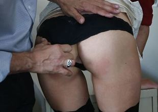 Shyla Ryder lets her boss fuck her in the butthole