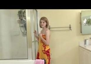 Aubrey Belle in The BathRoom