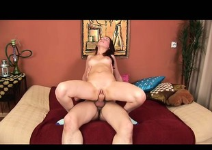 Petite girl with small boobs Courtney has her boyfriend fucking her tight ass unfathomable
