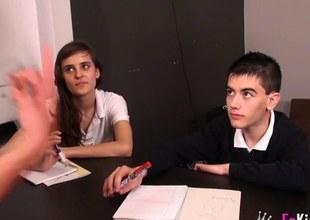 More Sex Lessons For Ainara and Jordi