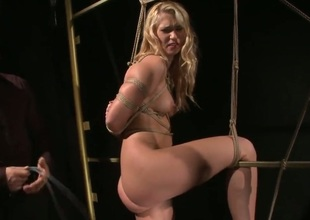 Blonde Linda Ray has great sexual experience and expands it with hard dicked dude