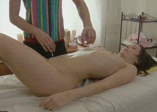 All Stacy wanted going in was a massage. But the guy knows his stuff and he knows how to get juvenile chick going. Stacy soon cannot resist the urge and she starts stuffing his dick in her mouth.