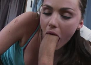 Teen babe Keiran Lee prefers to ride solely huge dicks! Lily Carter has a gigantic apparatus and her uses it for hardcore drill! She screams like a wild animal and gets a wonderful orgasm.