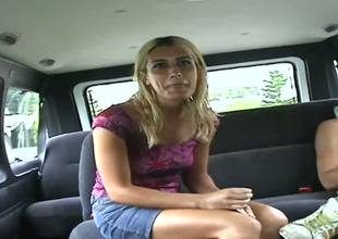 Heres a little remastered Bang Bus footage featuring a hot little blonde named Sheila. Now, we dont exactly get to the fuckin in this clip, but we do see her starting to crack.