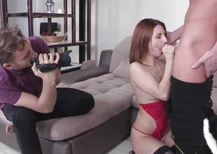 Luscious amateur fucked from behind