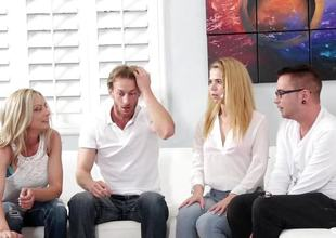Alina West fucks her step brother
