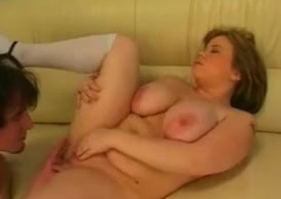 Fucking this Fat Chubby Teen GF ally that I met online-2