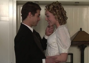 Lily Labeau and Xander Corvus are budding actors. They were invited at the historical party. Lily and Xander dressed befitting uniform, but what about historical fucking