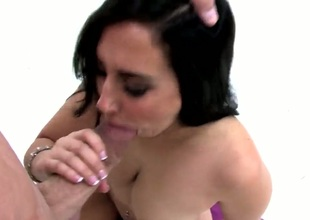 Valerie Kay gets her throat fucked literally to death by Billy Glide