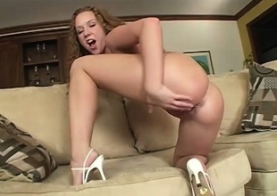 Well-endowed black dude shows a saucy blonde the time of her life
