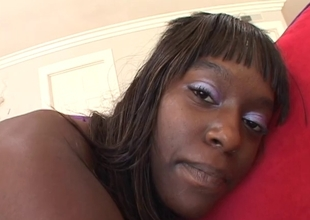 Horny black man bones down ebony slut Chocolate Star