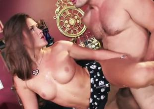 Abby Cross thinks she can get any man to fuck her! She can't live without to dominate, but this day she gets Manuel Ferraras hot dick, that destroys her dreams about domination!