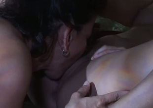 Melissa Monet is on the edge of nirvana after sensual sex with lesbian Georgia Jones