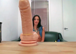 Amber Cox decided to take her dildo to work once