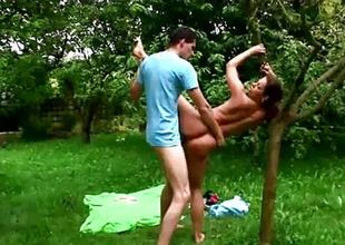 Outdoor sex gymnastik