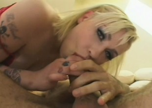 Sweet blonde college girl with a hot ass gets her tight cunt banged deep