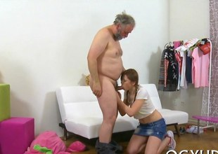 old fat dude drills  pussy movie segment 1