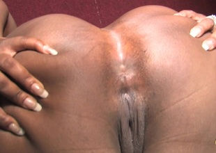 Affectionate ebony chubby with big ass giving huge dick cook jerking through gloryhole